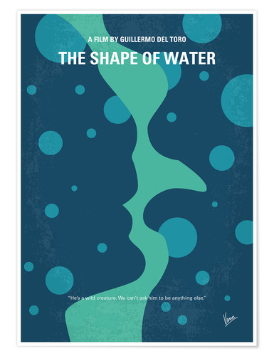 Premium-Poster The Shape Of Water