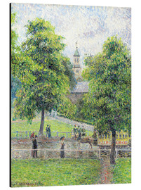 Alubild  Saint Anne Kirche in Kew, London - Camille Pissarro