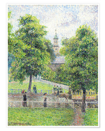 Premium-Poster Saint Anne Kirche in Kew, London