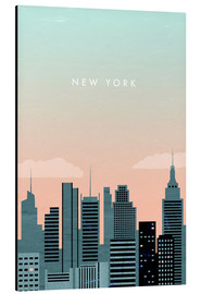 Alu-Dibond  New York Illustration - Katinka Reinke