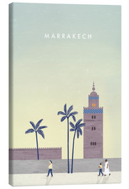 Leinwandbild  Marrakesch Illustration - Katinka Reinke