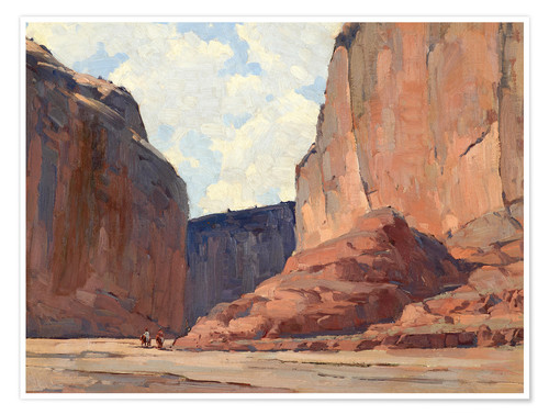Premium-Poster Canyon de Chelly