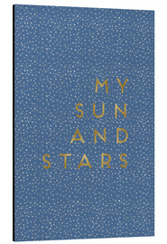 Alu-Dibond  My sun and stars - Orara Studio