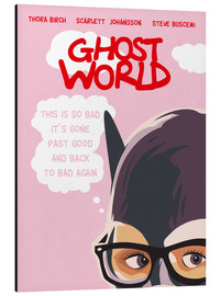 Alubild  Ghost World (Englisch) - Golden Planet Prints