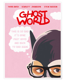Premium-Poster Alternative Ghost World art