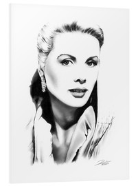 Hartschaumbild  Hollywood Diva - Grace Kelly - Dirk Richter