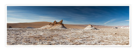 Premium-Poster  Panorama Valley of the Moon, Atacama, Chile - Circumnavigation