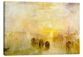 Leinwandbild  Zum Ball gehen (San Martino) - Joseph Mallord William Turner