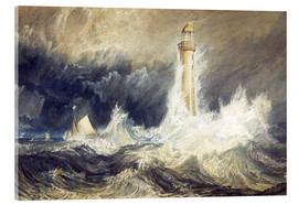 Acrylglas  Bell Rock Leuchtturm - Joseph Mallord William Turner