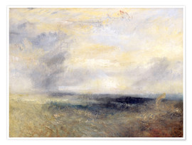 Premium-Poster  Margate vom Meer - Joseph Mallord William Turner