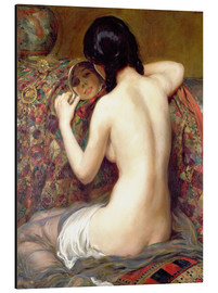 Alubild  Eine Reflektion - Albert Henry Collings