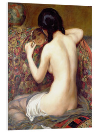 Hartschaumbild  Eine Reflektion - Albert Henry Collings