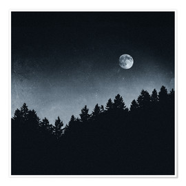 Premium-Poster  Under Moonlight - Tordis Kayma