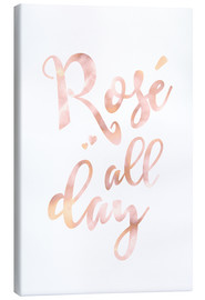Leinwandbild  Rosé all day - Ohkimiko