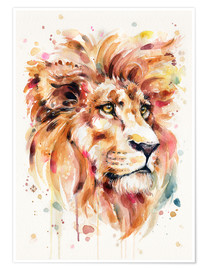 Premium-Poster  All Things Majestic (Lion) - Sillier Than Sally