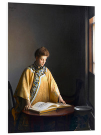 Forex  Die gelbe Jacke - William McGregor Paxton