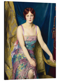 Alubild  Glitter - William McGregor Paxton
