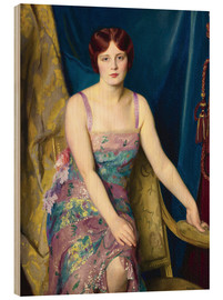 Holzbild  Glitter - William McGregor Paxton