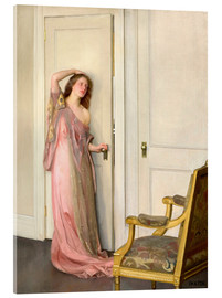 Acrylglas  Die andere Tür - William McGregor Paxton