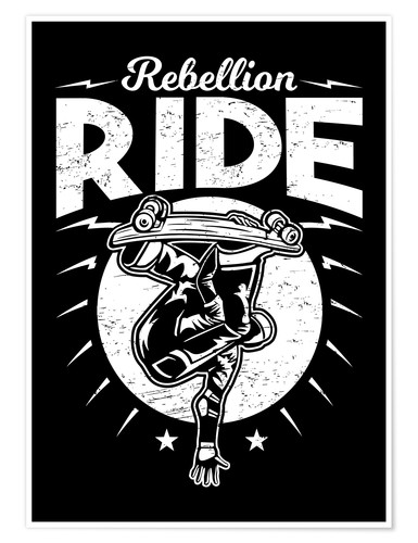 Premium-Poster Rebellion Ride