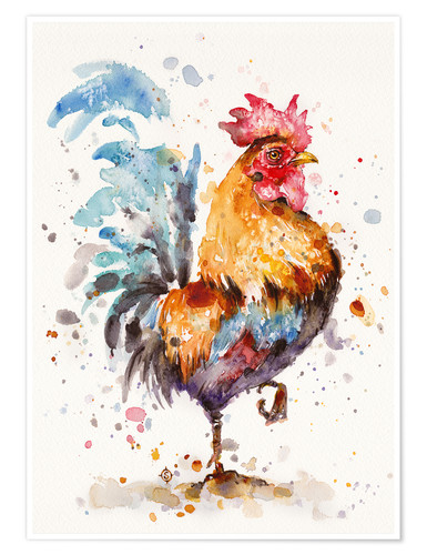 Premium-Poster Roosters About