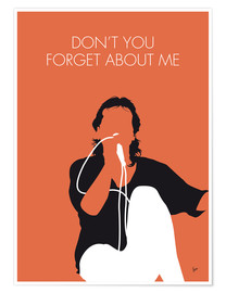 Premium-Poster Simple Minds - Don't You Forget About Me