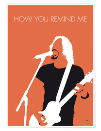 Premium-Poster Nickelback - How You Remind Me