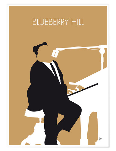 Premium-Poster Fats Domino - Blueberry Hill