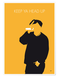 Premium-Poster 2Pac - Keep Ya Head Up