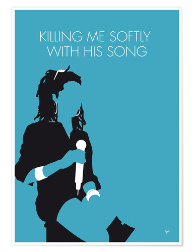 Premium-Poster Lauryn Hill - Killing Me Softly With His Song