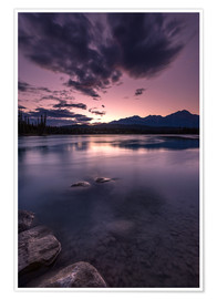 Premium-Poster Athabasca River
