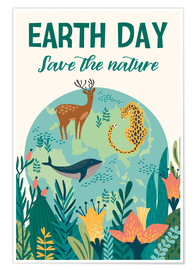 Premium-Poster  Earth Day - Kidz Collection