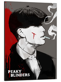 Alubild  Peaky Blinders Tommy Shelby - 2ToastDesign