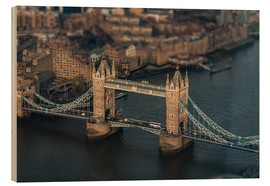 Holzbild  London Tower Bridge - Felix Pergande
