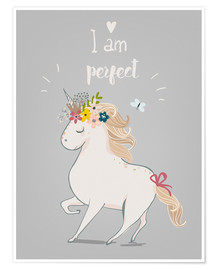 Poster  Perfektes kleines Einhorn - Kidz Collection