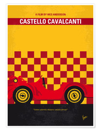 Poster No927 My CASTELLO CAVALCANTI minimal movie poster