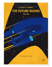Premium-Poster The Future Begins