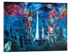 Acrylglasbild  The Garden In The Valley Of The Stars - James McCarthy