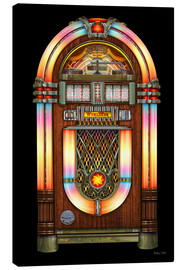 Leinwandbild  Vintage Jukebox - Michael Fishel