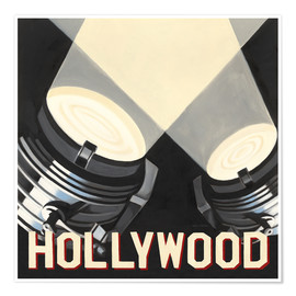 Premium-Poster  Hollywood - Marco Fabiano