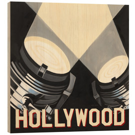 Holzbild  Hollywood - Marco Fabiano