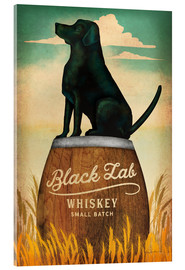 Acrylglas  Black Lab Whiskey - Ryan Fowler