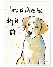 Anne Tavoletti - Home is where the dog is II