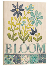 Holzbild  Bloom - Laura Marshall
