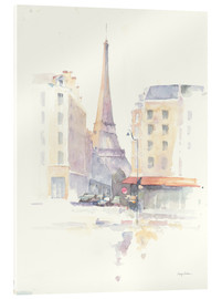 Acrylglasbild  Paris am Morgen - Avery Tillmon
