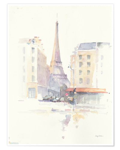Premium-Poster Paris am Morgen