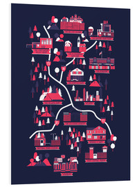 Forex  The Walking Dead Map - Robert Farkas