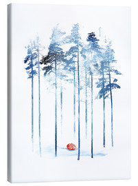 Leinwandbild  Sleeping in the woods - Robert Farkas