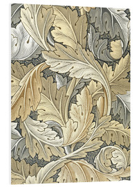 Hartschaumbild  Akanthus - William Morris