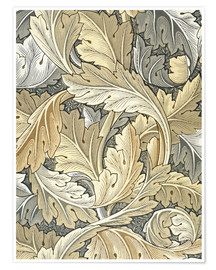 Premium-Poster  Akanthus - William Morris